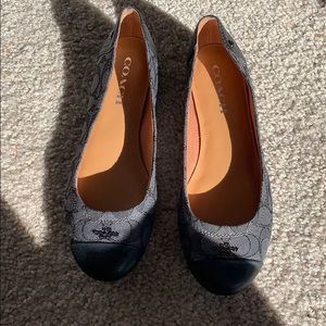 Coach Shoes - Coach black flats